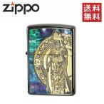 Zippo ライター ジッポー [ゴッデス オブ マーシー] 観音様 貝貼り ZIPPO ジッポ