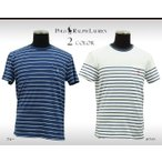 ポロ・ラルフローレン Tシャツ ポケット ボーダー カスタムフィット メンズ