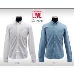 ラコステライブ オックスフォード ボタンダウンシャツ メンズ