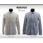 【アウトレット】ウールリッチ 長袖シャツ メンズ ワークシャツ ストライプ