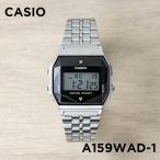 ショッピングチープカシオ CASIO STANDARD DIGITAL カシオ スタンダード デジタル A159WAD-1 腕時計 メンズ レディース チープカシオ チプカシ プチプラ ブラック 黒 シルバ