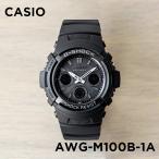 【10年保証】CASIO G-SHOCK カシオ Gショック AWG-M100B-1A 腕時計 メン...