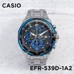 カシオ CASIO 腕時計 時計 エディフィス EDIFICE クロノグラフ EFR-539D-1A2
