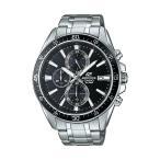 CASIO EDIFICE CHRONOGRAPH カシオ エディフィス クロノグラフ EFR-546D-1A 腕時計 メンズ アナログ 防水 シルバー ブラック 黒 日本未発売