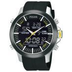 セイコー SEIKO 腕時計 時計 PULSAR ON THE GO CHRONOGRAPH ANA-DIGI パルサー オン ザ ゴー クロノグラフ アナデジ PW6001
