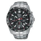 ソーラー セイコー SEIKO 腕時計 時計 PULSAR ON THE GO CHRONOGRAPH MENS パルサー オン ザ ゴー クロノグラフ メンズ PZ5005