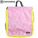 ショッピングプールバッグ プールバッグ 子供 キッズ ジュニア 女の子 CONVERSE(コンバース) ナップサック スイミングバッグ リュックサック ビーチバッグ 水着 全3色