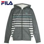 ラッシュパーカーメンズ水着FILA(フィラ)UVパーカー長袖ジップアップラッシュガード紫外線対策UVカットパーカー