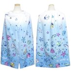 ラップタオル 子供 キッズ 女の子 ビューティフルシー 巻きタオル 水泳 プール タオル スイミング 着替え バスタオル 80cm 全1色