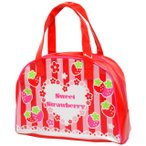 ショッピングプールバッグ プールバッグ 子供 キッズ 女の子 ビニール ボストンバッグ プールバッグ ビーチバッグ スイミングバッグ 子供水着 全8色