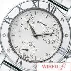 セイコー/SEIKO/正規品/WIRED f/ワイアードエフ/クオーツ/アナログ表示/マルチカレンダー/レディース腕時計/AGET403