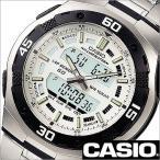 ショッピングカシオ カシオ/CASIO/スタンダード/海外品/クオーツ/デジアナ表示/ストップウォッチ/デュアルタイム/チープカシオ/チプカシ/メンズ腕時計/AQ-164WD-7A
