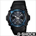 ショッピングShock カシオ/CASIO/G-SHOCK/Gショック/正規品/スタンダード/ソーラー電波時計/デジアナ表示/ストップウォッチ/メンズ腕時計/AWG-M100A-1AJF
