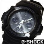 ショッピングShock カシオ/CASIO/G-SHOCK/Gショック/海外モデル/ソーラー電波時計/デジアナ表示/ストップウォッチ/メンズ腕時計/AWG-M100B-1A