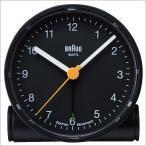 ブラウン/BRAUN/目覚まし時計/置き時計/クロック/アラーム/メンズ・レディース置き時計/BNC001BKBK