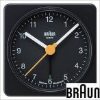 ブラウン/BRAUN/目覚まし時計/置き時計/クロック/アラーム/メンズ・レディース置き時計/BNC002BKBK