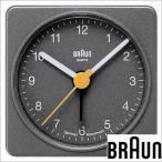 ブラウン/BRAUN/目覚まし時計/置き時計/クロック/アラーム/メンズ・レディース置き時計/BNC002GYGY