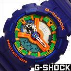 ショッピングShock カシオ/CASIO/G-SHOCK/Gショック/海外品/Crazy Colors/クオーツ/デジアナ表示/ストップウォッチ/メンズ腕時計/GA-110FC-2A