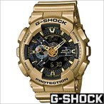 ショッピングShock カシオ/CASIO/G-SHOCK/Gショック/海外品/クオーツ/デジアナ表示/ストップウォッチ/メンズ腕時計/GA-110GD-9B