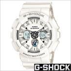 ショッピングShock カシオ/CASIO/G-SHOCK/Gショック/海外品/Solid Colors/クオーツ/デジアナ表示/ストップウォッチ/メンズ腕時計/GA-120A-7A
