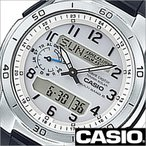 ショッピングカシオ カシオ/CASIO/Wave Ceptor/ウェーブセプター/正規品/ソーラー電波時計/デジアナ表示/ストップウォッチ/マルチバンド6/メンズ腕時計/WVA-M650-7AJF