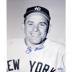 メジャーリーグ ニューヨークヤンキース アクセサリー グッズ MLB ニューヨーク ヤンキースのヨギ ・ ベラ署名ジャージー クローズ アップ 8 x 10 写真