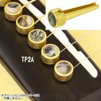 D'Andrea TP2A Abalone Inlay, Flat Head 《ブリッジピン》【ネコポス】