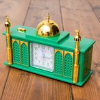 アザーン目覚まし時計−モスク 緑 / エスニック インド アジア 雑貨 インド映画 神様