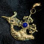 プルパとカルタリのペンダントトップ(紐付き) / アクセサリ ゴールド レビューでタイカレープレゼント