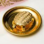 インド風水のプレート(kachwa plate) 金 / カチュワ