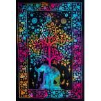 マルチクロス 生命の木(約194cm×約134cm) / レビューで300円クーポン進呈 生命の樹アジア 布 インド ファブリック エスニック