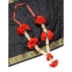 インドの造花 / レビューで250円クーポン進呈 エスニック 衣料 服 ファッション アジア バラタナティヤム アクセサリ サリー