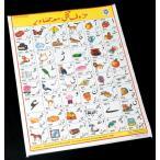 ウルドゥ語のアルファベット 教育ポスター / インド 本 印刷物 ステッカー レビューでタイカレープレゼント