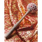 撥 太鼓 バチ スティック ドラ エスニックマレット(太鼓のバチ) 38.5cm 銅鑼 バスドラム ベースドラム