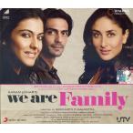We Are Family CD / レビューで250円クーポン進呈 映画音楽インド音楽 民族音楽 インド映画 ミュージック ボリウッド サントラ