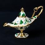 アラジンの魔法のランプ (12cm×6.5cm) / アラジンランプ オイルランプ 千夜一夜 レビューでタイカレープレゼント