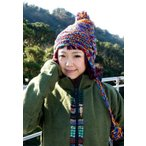 耳あて付きウールンニット帽 ミックス / エスニック 衣料 服 ファッション アジア レビューでタイカレープレゼント