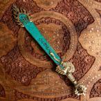 密教 ガドゥガ 宝剣 利剣 密教法具 チベット密教法具 文殊菩薩の利剣 40cm アジア チベタン マニ エスニック