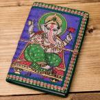 メモ帳 ノート 神様 手帳 〈12.8cm×8.5cm〉インドの神様柄紙メモ帳 MEMO 筆記用具 ロクタ ネパール エスニック アジア 雑貨