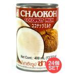 送料無料 セット ココナッツミルク タイカレー グリーンカレー (24個セット・送料無料)ココナッツミルク 400ml (CHAOKOH)