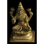 ラクシュミ 神様像 ラクシュミ(高さ 8.3cm) インド 置物 エスニック アジア 雑貨