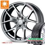 サマータイヤ 245/35R19 93W REINF フェデラル SS595 & SSR GTV03 8.5-19 タイヤホイール4本セット