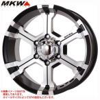 MKW MK-36 DCGB 7.0-16 ホイール1本 MK-36 Diacut Glossblack
