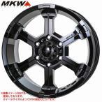 MKW MK-36 GB 8.0-16 ホイール1本 MK-36 Glossblack