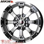 MKW MK-46 DCGB 7.0-16 ホイール1本 MK-46 Diacut Glossblack