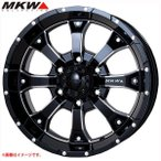 MKW MK-46 M/L+ MB ジムニー専用 5.5-16 ホイール1本 MK-46 M/L+ Milled Black
