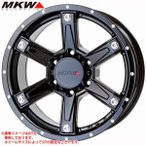 MKW MK-56 MB 8.0-17 ホイール1本 MK-56 Milled Black