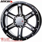 MKW MK-56 MMB 7.0-16 ホイール1本 MK-56 Milled MachineBlack