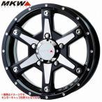MKW MK-56 MMB ジムニー専用 5.5-16 ホイール1本 MK-56 Milled MachineBlack