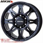 MKW MK-66 MSB 8.0-16 ホイール1本 MK-66 Milled SatinBlack